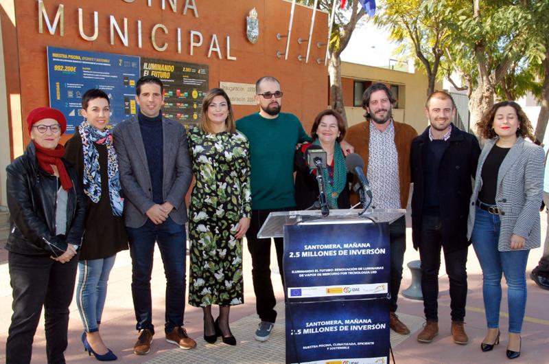 Responsable municipales del Ayuntamiento de Santomera