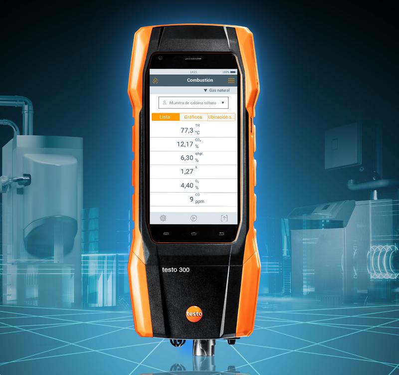 El testo 300 Longlife es uno de los productos que la compañía Testo presentara en C&R 2019 .