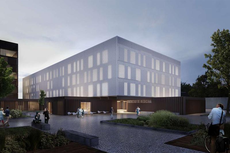 Ahorro y eficiencia energética en la futura Facultad de Medicina de la Universidad de Extremadura