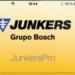 App Junkers Pro. Asistente para instalación de Calderas, Calentadores y Termos Junkers