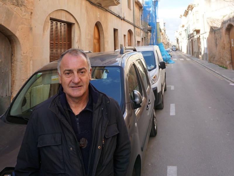 El concejal de Urbanismo, Ordenación del Territorio, Entorno Urbano, Medio Ambiente y Medio Rural, Jaume Tomás.
