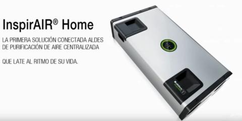 Purificación de aire doble flujo conectada – InspirAIR Home: Ventajas
