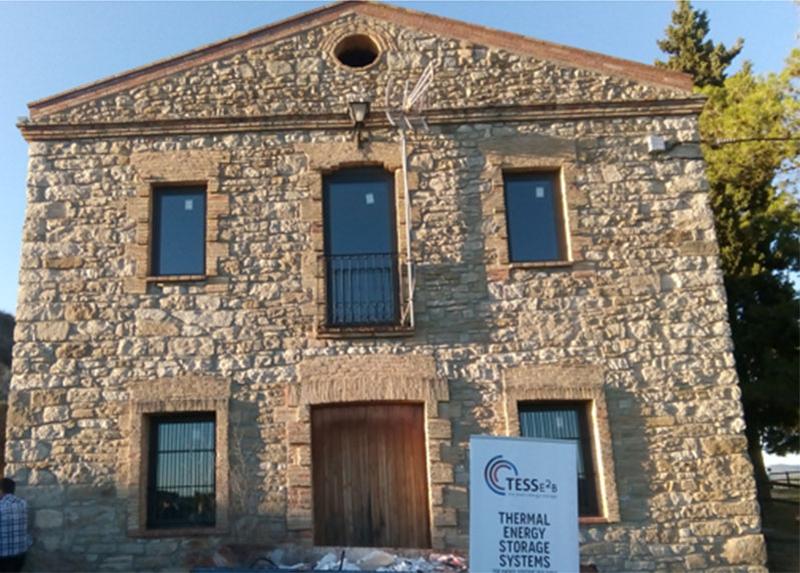 La pasada semana se inauguró la casa piloto del proyecto TESSe2b.