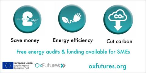 Proyecto OxFutures: subvencionar obras para la mejora energética y la reducción de CO2 de las pymes en Oxfordshire