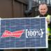 Todas las cervezas Budweiser que se vendan en Reino Unido en 2020 serán elaboradas con electricidad 100% renovable