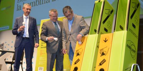 Ambilamp recicla la bombilla 200 millones y alcanza las 23.000 toneladas de material recuperado