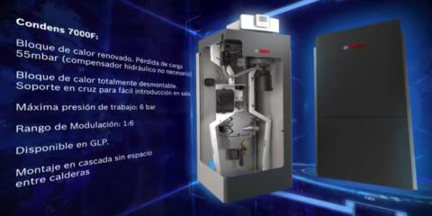 Condens 7000 F (75 – 300 kW) de Bosch Comercial e Industrial España