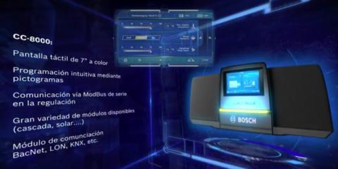 Sistema de regulación CC-8000 de Bosch