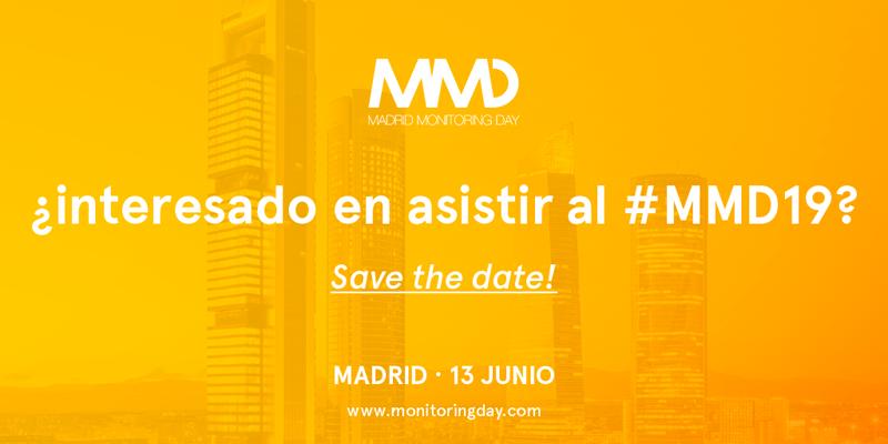 El Auditorio de Mutua Madrileña de Madrid alberga el VI Madrid Monitoring Day, un evento gratuito y cuyo periodo de inscripción ya está abierto.