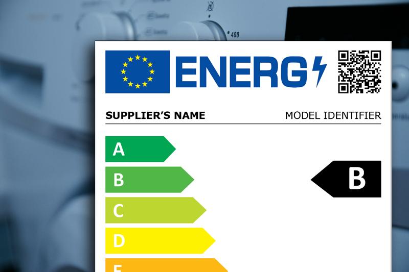 Etiquetado energético de electrodomésticos.