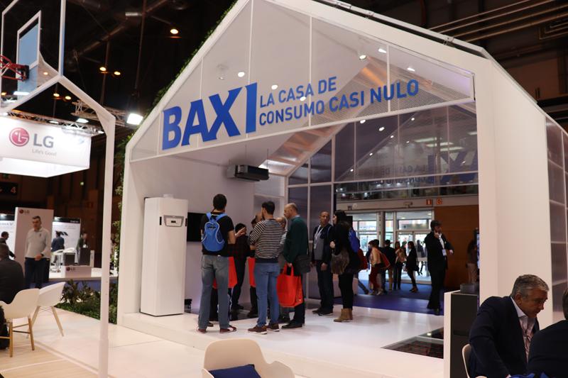 Stand de Baxi en Climatización y Refrigeración 2019.