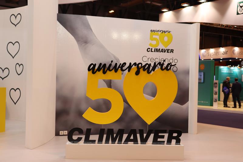 Stand de Isover en Climatización y Refrigeración 2019.