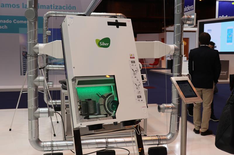 Stand de Siber en Climatización y Refrigeración 2019.