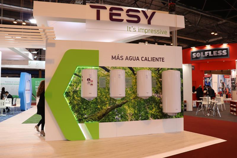 Stand de Tesy en Climatización y Refrigeración 2019.