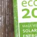 ECO20 obtiene la certificación como único sello que garantiza el origen de energía solar del autoconsumo eléctrico