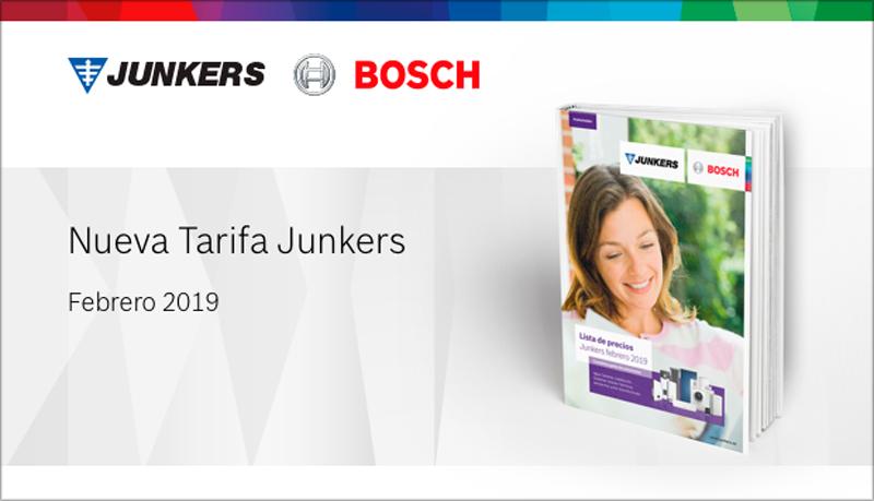 Nueva tarifa Junkers.