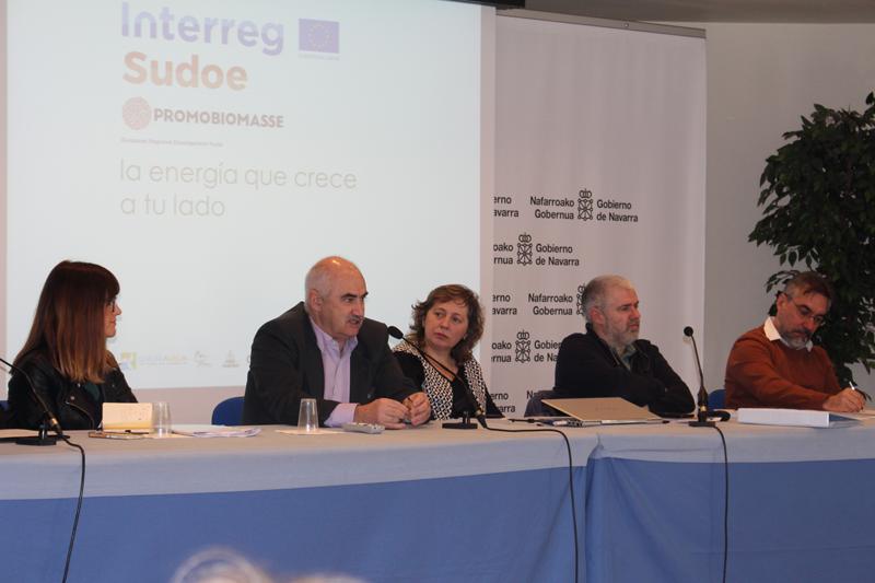 Jornada técnica en Navarra sobre biomasa forestal.
