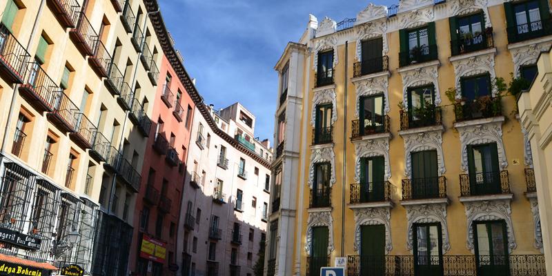 Edificios Madrid.