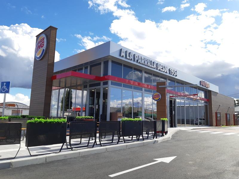 Tienda sostenible de Burger King España inaugurada en Brunete (Madrid).