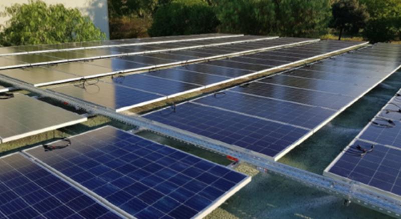 Emaya ha puesto en funcionamiento la instalación fotovoltaica en Can Valero, en Palma de Mallorca.