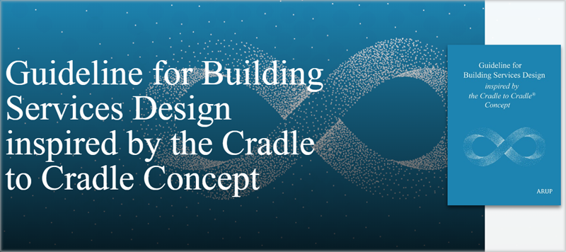 """Portada de la guía """"Guideline for Building Services Design inspired by the Cradle to Cradle Concept"""""""