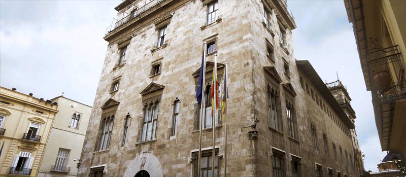 Edificio sede de la Generalitat Valenciana.