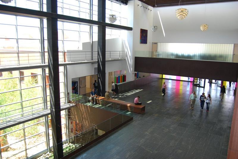 Interior del Hospital Universitario Río Hortega de Valladolid.