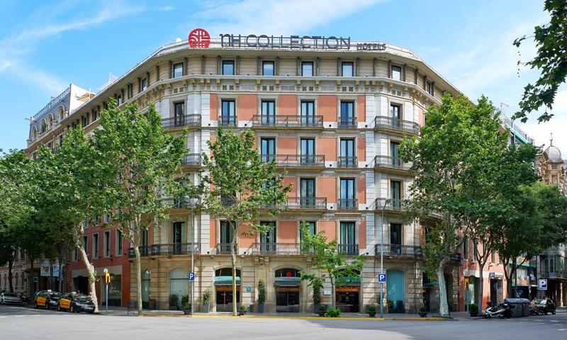 Uno de los más de 100 hoteles NH que el grupo tiene en España y que se abastecen con energía renovable de origen certificado.