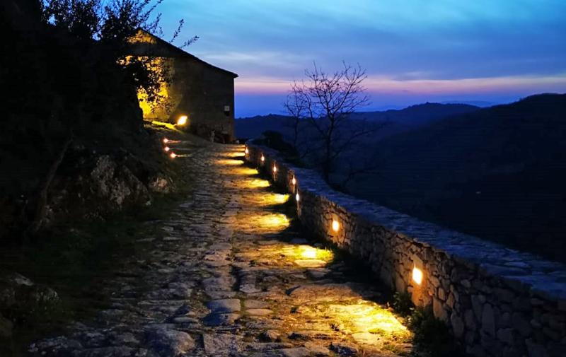 Iluminación en municipio de la Sierra de Gata