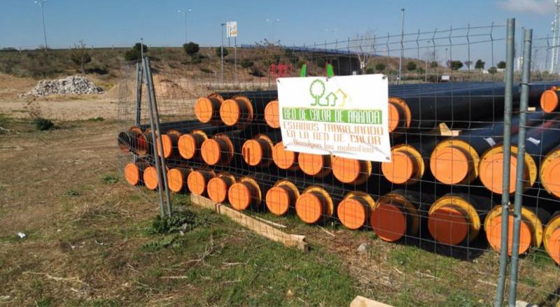Biomasa en Aranda de Duero