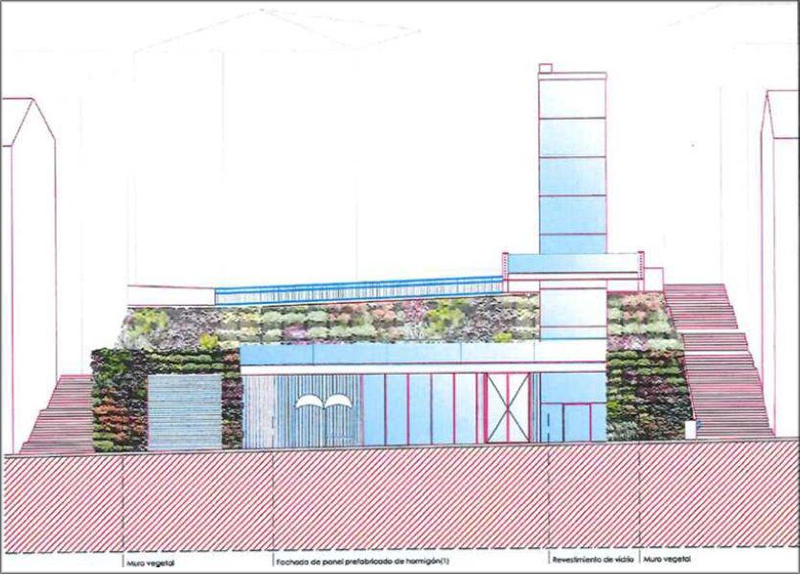 Proyecto de la central térmica con biomasa que alimentará el district heating de Sestao.