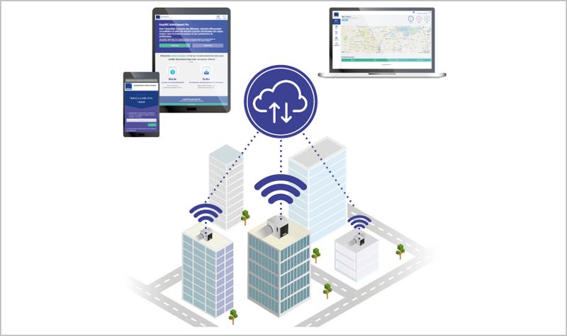 La nueva solución de Aldes permite la monitorización de los sistemas VMC de forma remota para anticiparse a posibles fallos.