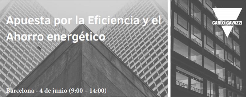 """Seminario de Carlo Gavazzi """"Apuesta por la Eficiencia y el Ahorro Energético"""""""