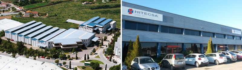 Fábrica en Arenys de Mar para la producción de sistemas de calefacción (Adisa Heating) y fábrica en Vilafranca del Penedés para la producción de equipos de alta capacidad (Hitecsa) .