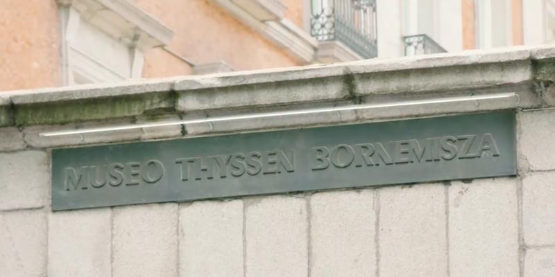 Museo Thyssen-Bornemisza.
