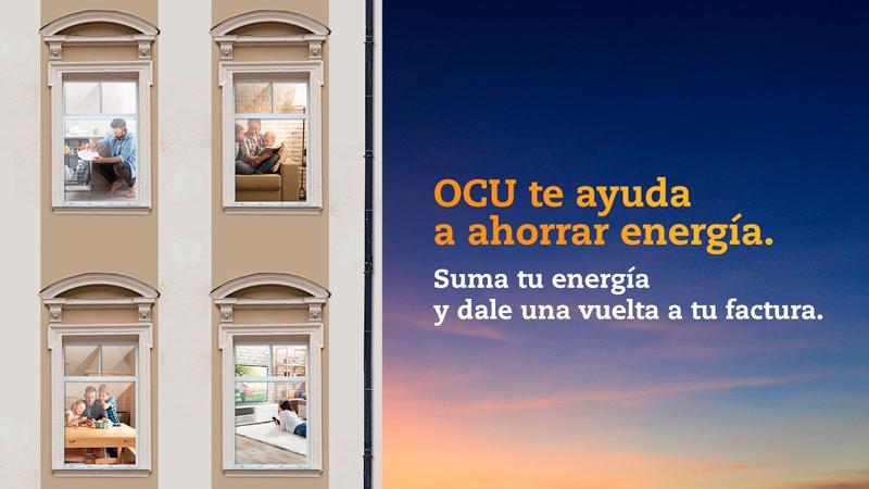 Anuncio de la Compra Colectiva de Energía de la OCU.
