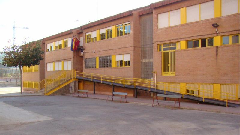 Centro educativo público de Murcia.