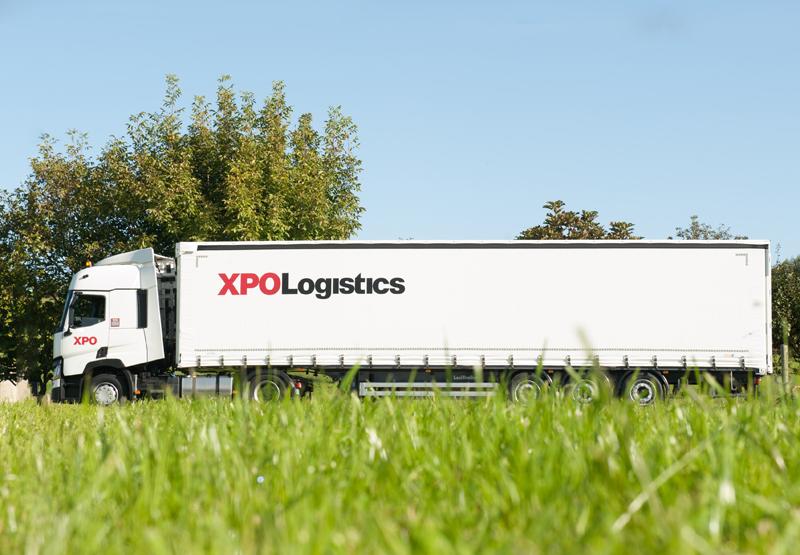 Camión de XPO Logistics.