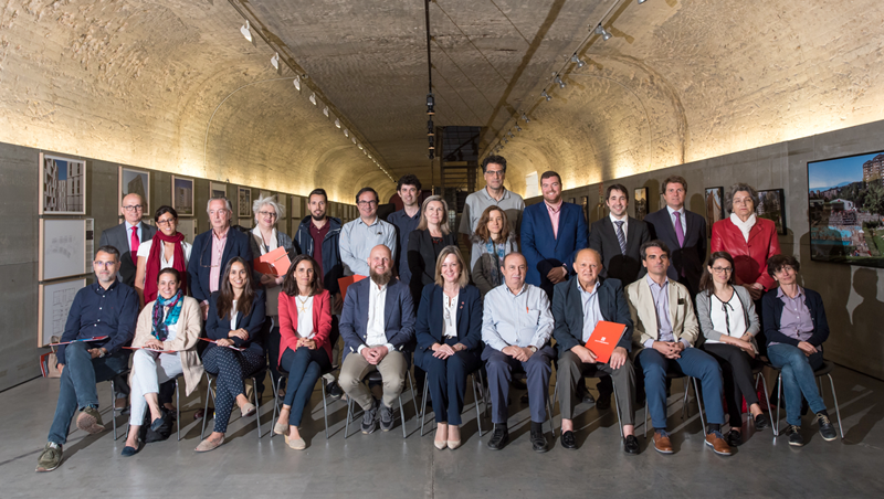 Foto de familia del Comité Técnico del VI Congreso Edificios Energía Casi Nula.