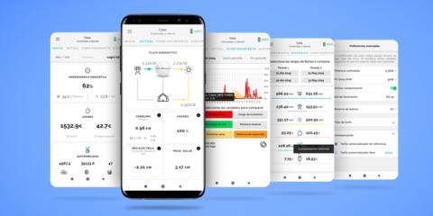 La app MyAmpere monitoriza las baterías para el autoconsumo inteligente en instalaciones fotovoltaicas