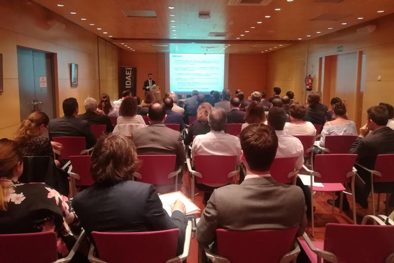 Evento de presentación del proyecto F-PI en la sede del IDAE.