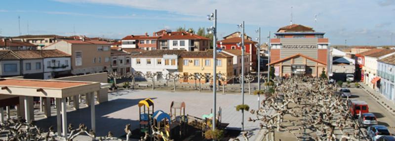 Plaza de Castejón, Navarra.