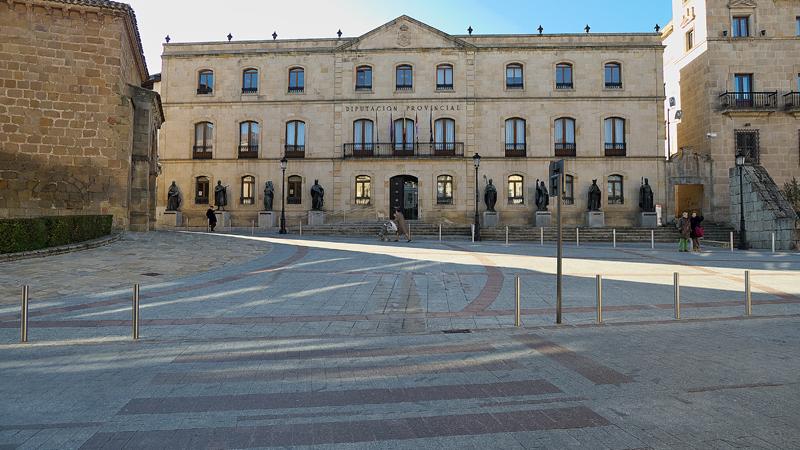 Fachada de la Diputación de Soria.