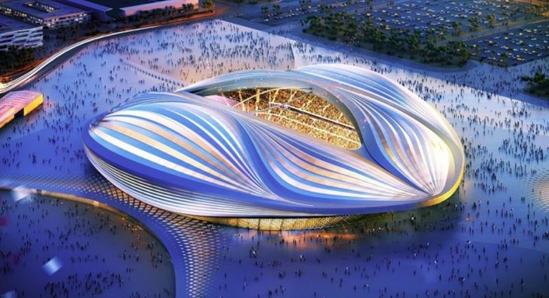 Estadio Al Janoub de Al Wakrah para la Fifa world cup Qatar 2022