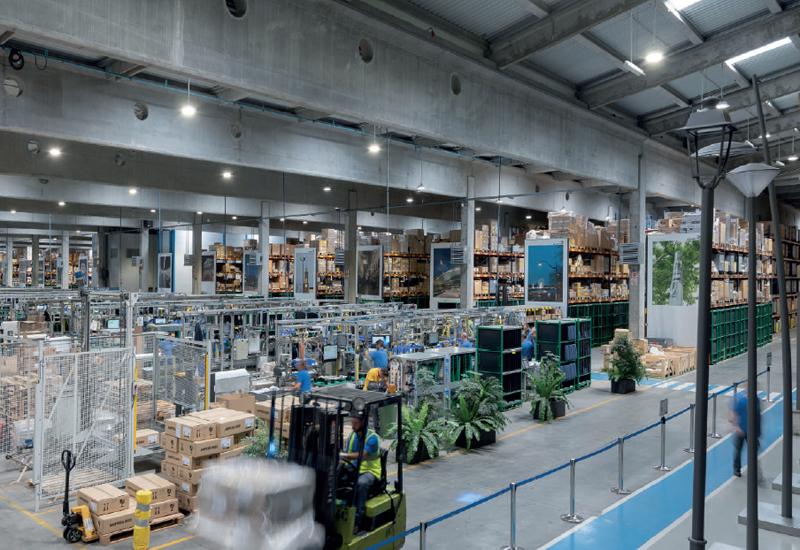 Fábrica de Schréder España en Marchamalo (Guadalajara)