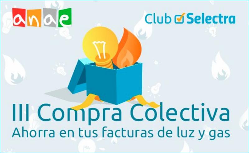 Anuncio de la III Compra Colectiva de Anae y Selectra.