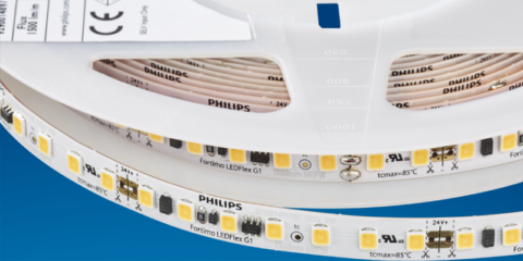 Signify lanza Fortimo LEDFlex G1, las tiras LED flexibles de la marca Philips