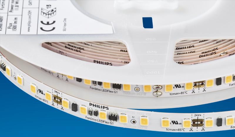 Tiras LED marca Philips de Signify