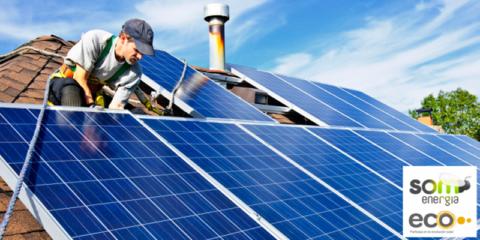 Primera compra colectiva de cien instalaciones fotovoltaicas dirigida a personas y negocios con tejado propio