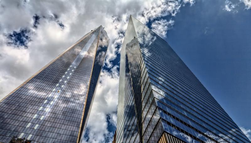 Edificios inteligentes. Rascacielos.